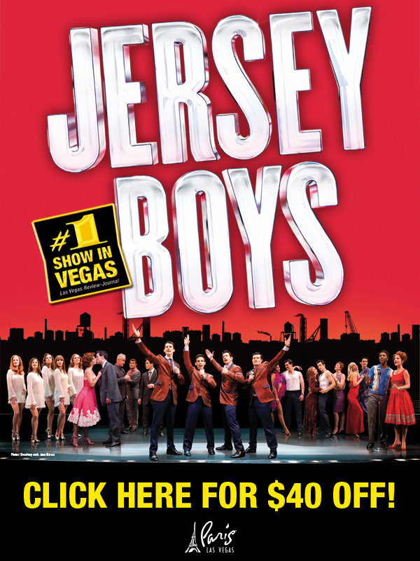 $40 Off Jersey Boys Tickets