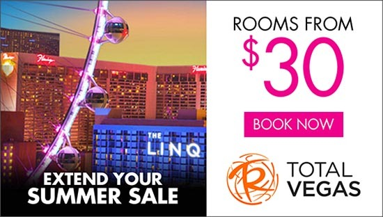 Total Vegas Extend Your Summer Sale