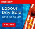 Hotels.com Canada Get away for Labour Day!