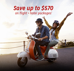 Save up to $570 on Flight + Hotel Packages at Hotwire