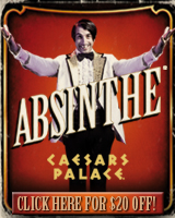 Absinthe, Las Vegas