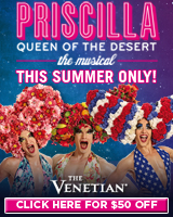 Priscilla - Queen Of The Desert Las Vegas