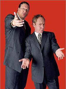 Penn & Teller Las Vegs Show