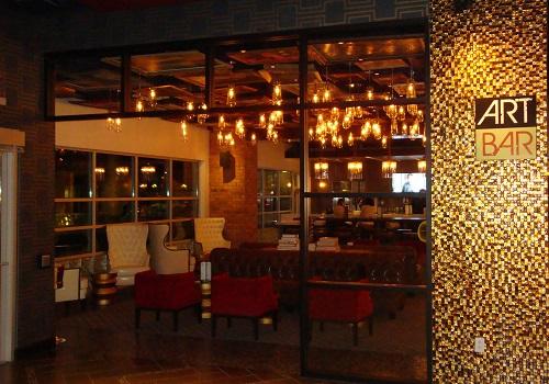 The Art Bar inside Downtown Grand