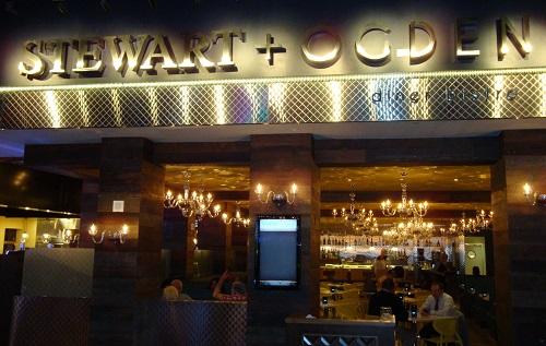 The Steward & Ogden Restaurant inside Downtown Grand