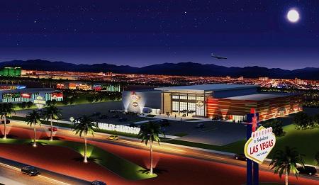 Artist rendition of Harley Davidson Las Vegas