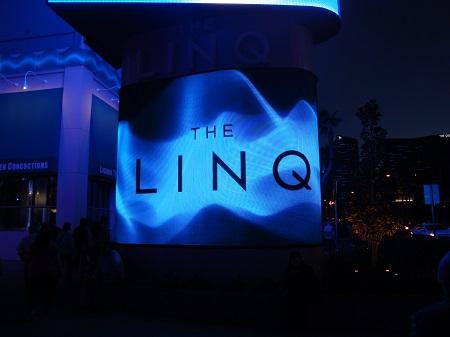 Linq Las Vegas sign