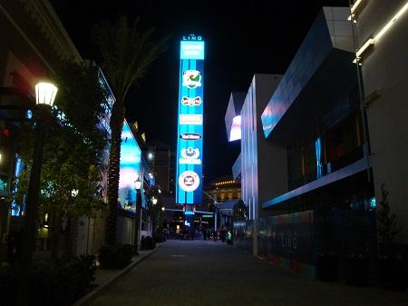 Linq Las Vegas big vertical sign