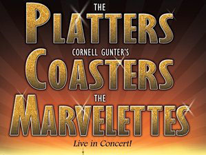Platters, Cornell Gunter's Coasters, and The Marvelettes Show Tickets