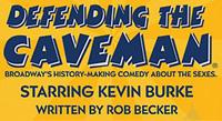Defending The Caveman show at Las Vegas