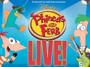 Disney Live Phineas and Ferb Las Vegas Tickets