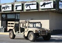 Battlefield Vegas Shooting Package Tour