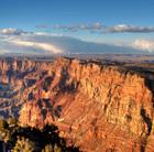 Maverick Grand Canyon Landing Sunset